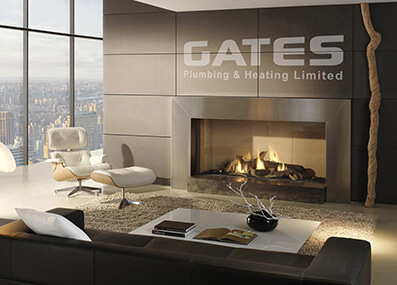 Gates Heating leaflet design