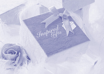 Inspired gifts web design