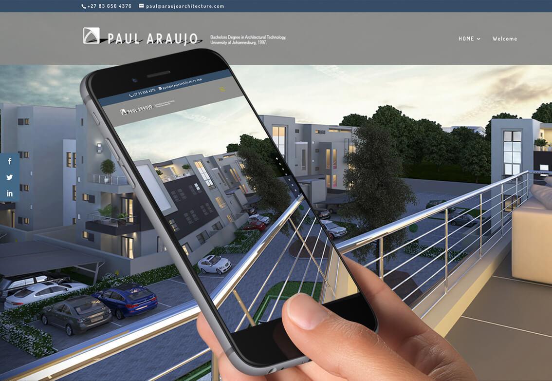 Website portfolio design responsive web design