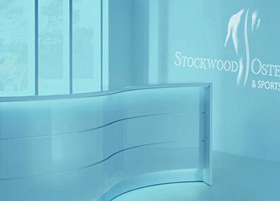 Stockwood logo design
