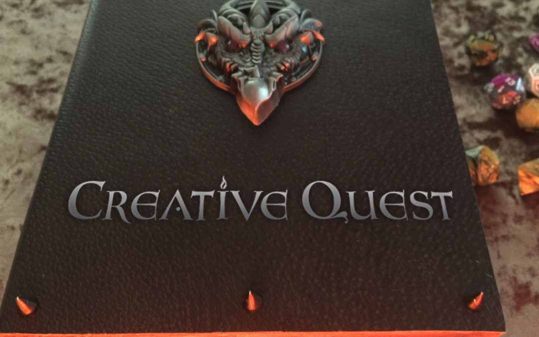 Creative Quest website design and logo